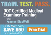 DOT Certified Medical Examiner Training